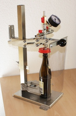 Bottle Filler, Back Pressure Bottle Filler